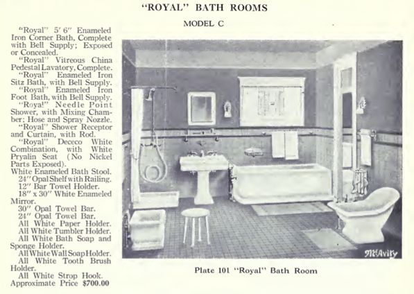 Laurelhurst 1912 Craftsman  Bungalow Bathroom Research  The 1920 McAvity   Royal  Bath Suite. 17 Best ideas about Bungalow Bathroom on Pinterest   Craftsman
