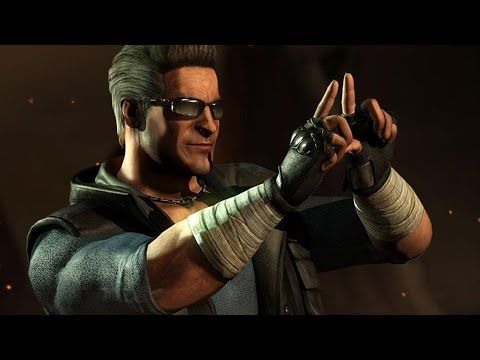 Mortal Kombat X: All of Johnny Cage's Amazing Intros - YouTube
