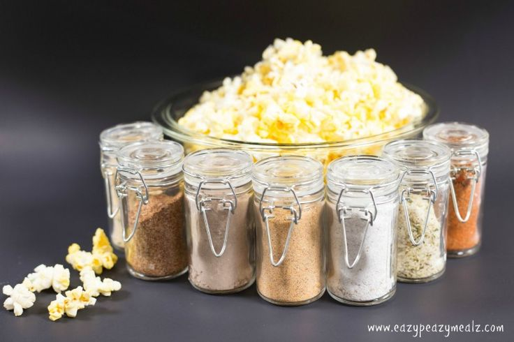 YES. Popcorn flavor shakers - sweet, salty, spicy, cheesy - several to choose from, all look great! -rhc
