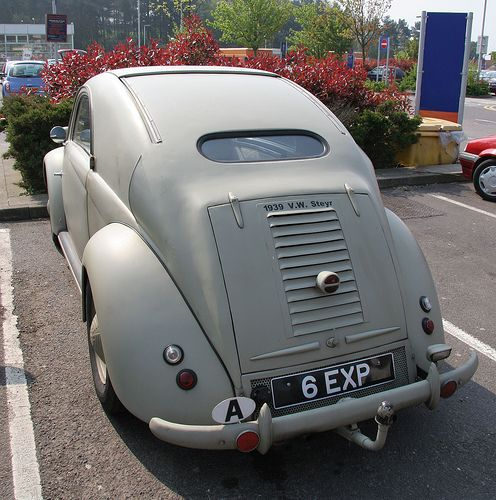 1939 VW Steyr | Photographed in a supermarket car park in Ha… | Flickr