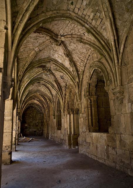 Passage Of Krak des Chevaliers, Homs, Syria by Eric Lafforgue, via Flickr