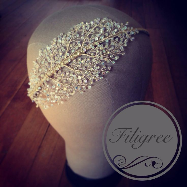 Kelly Spence Filigree Headdress