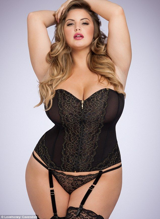 7fac32941e981 Plus-size model dubbed new Ashley Graham wins first lingerie campaign