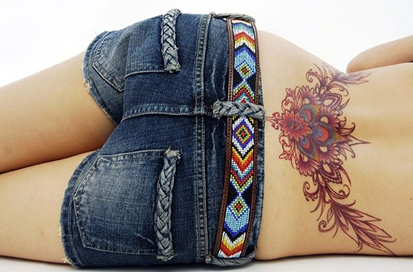 60+ Low Back Tattoos for women   Cuded