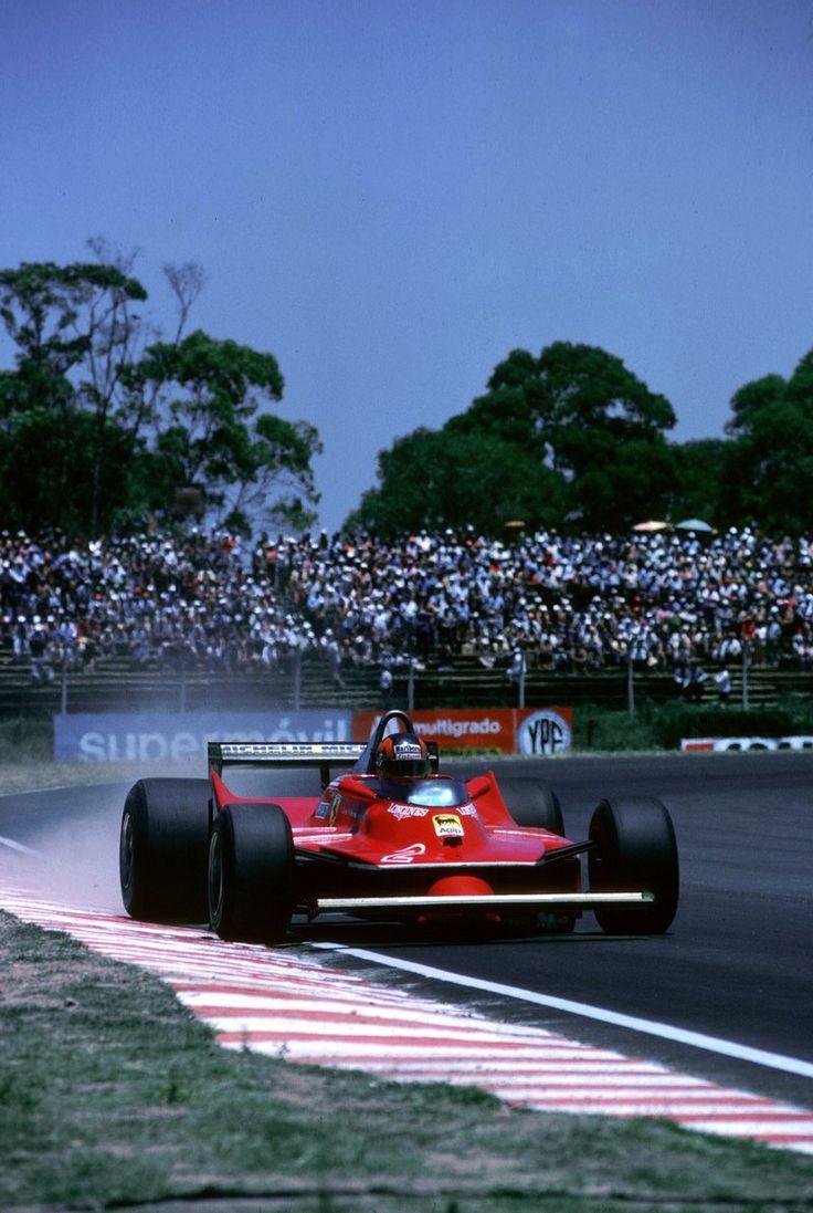1980 GP Argentyny (Gilles Villeneuve) Ferrari 312T5