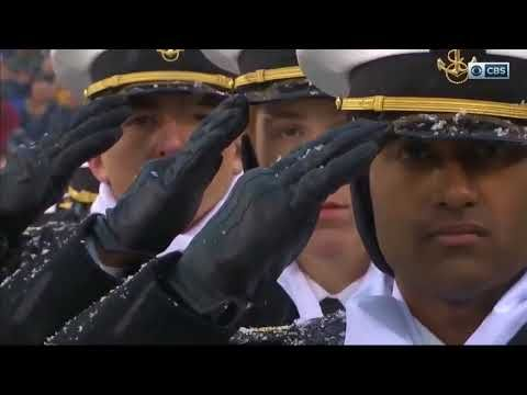 The National Anthem at yesterday's Army-Navy Game will give you chills. See  more stories, inspirational videos and interviews at https.
