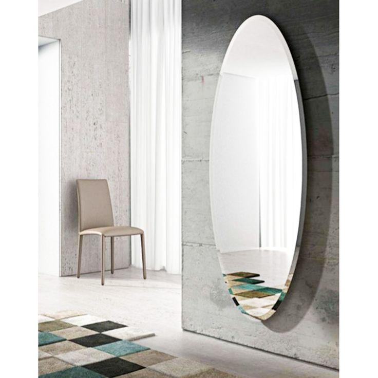 Mirror Wall Bedroom, Full Length Oval Wall Mirror