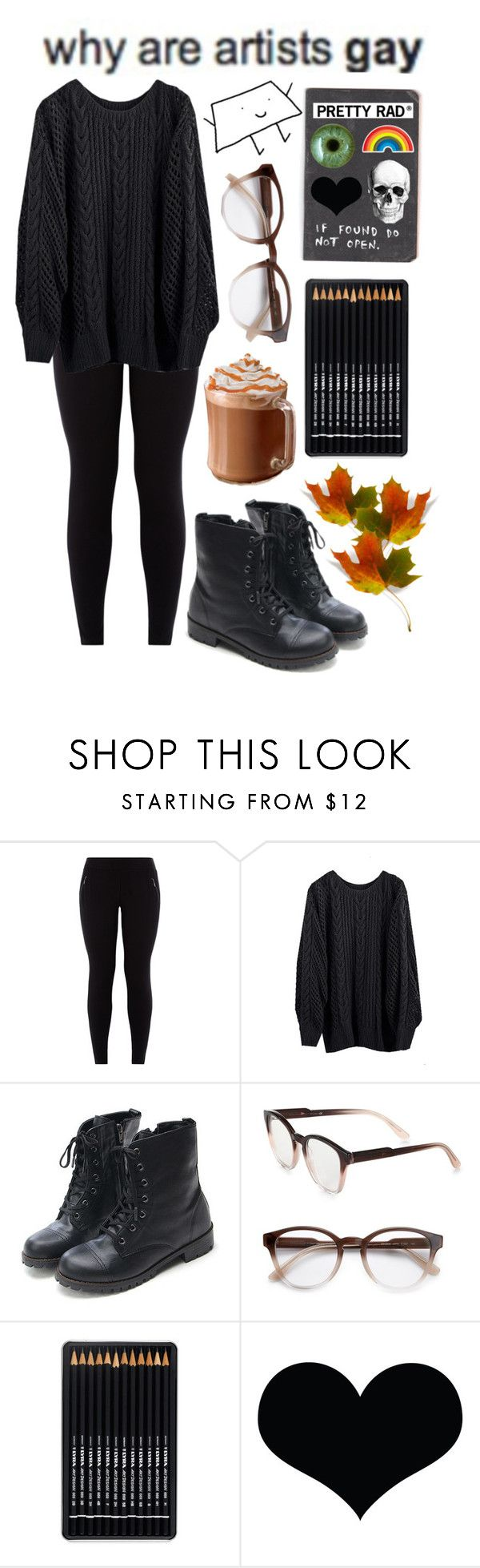 """Autumn Art Kid"" by spnlex ❤ liked on Polyvore featuring New Look, STELLA McCARTNEY and Anya Hindmarch"