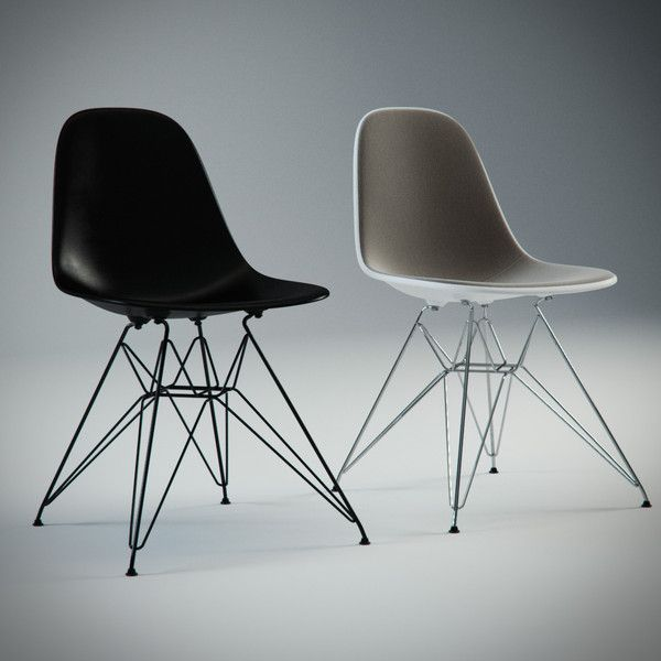 Eames Plastic Side Chair DSR, 1950