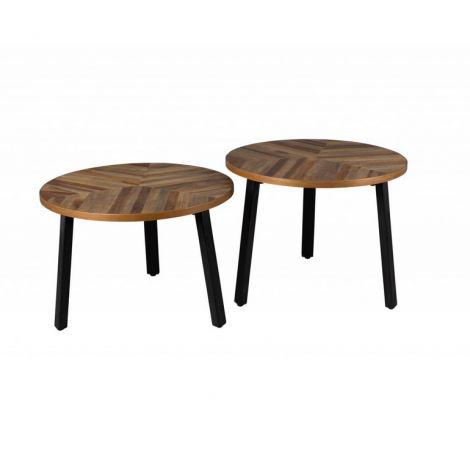 Set stolků Mundu coffee - Alhambra | Design studio Praha