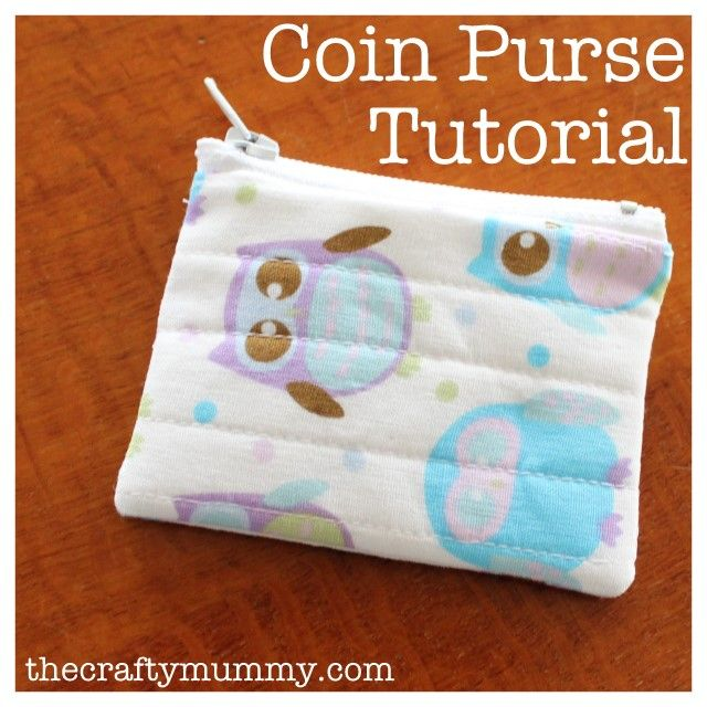 Creating my way to Success: Easy Zip Coin Purse Tutorial