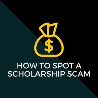 How to spot a scholarship scam