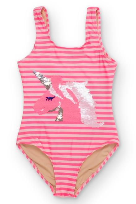 40e902ff2c Shop for Magic Two-Way Sequins Unicorn Scoop Swimsuit by Shade Critters. SHADE  CRITTERS One Piece Unicorn Coral