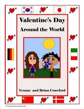 valentine's day around the world esl