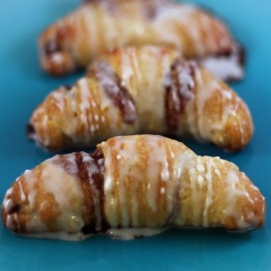 Cinnamon Crescent Rolls - Breakfast Club?