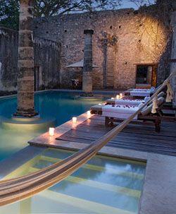 LUXURY HACIENDA puerta campeche pool