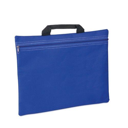 Portadocumentos Pedrox de poliéster, disponible en varios colores. Ideal para regalar en congresos para que los asistentes puedan guardar información. #promociones #articulosdepublicidad #regalosparaclientes