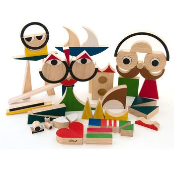 Playshapes 74 Wooden Block $158
