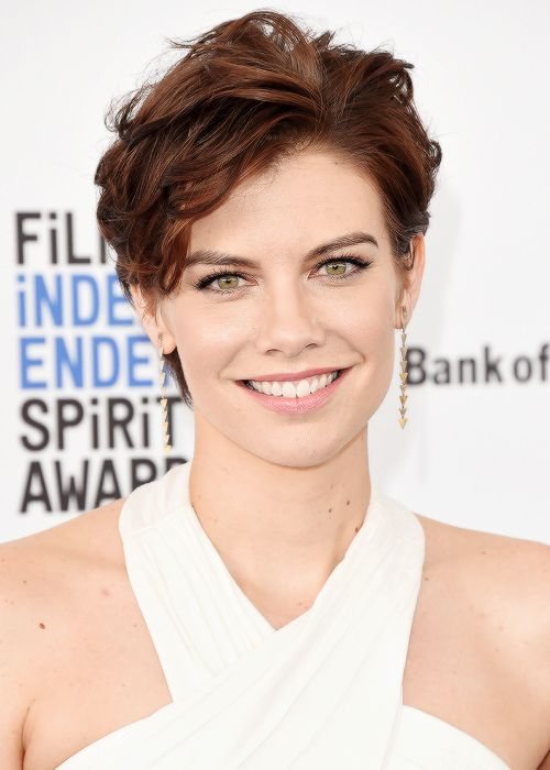 Lauren Cohan at the 2016 Film Independent Spirit Awards in Santa Monica on February 27, 2016
