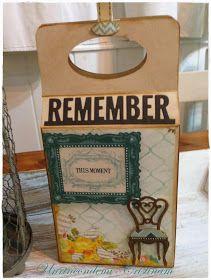 Un rincón de mi: Tutorial caja de regalo decorada con troqueles