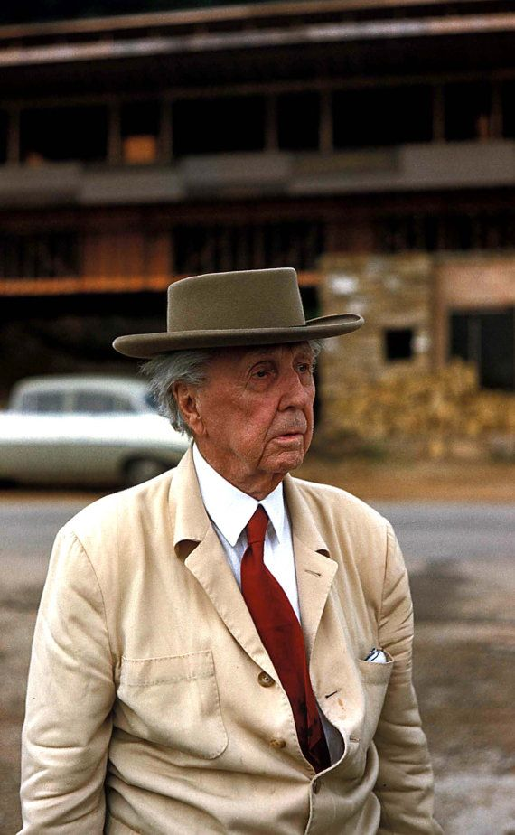 Frank Lloyd Wright by Marvin Koner