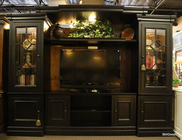 large black lighted entertainment center wall unit by on wall units id=58192