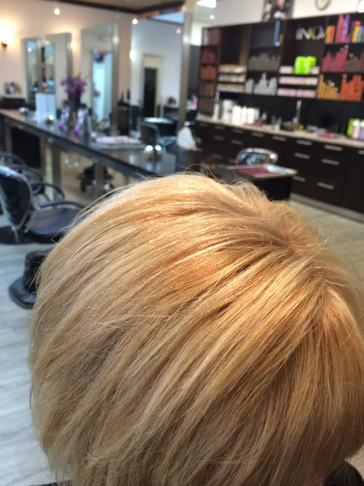 Arlene was referred by a friend I gave her inoa haircolor immonia free optimized scalp comfort supreme respect of the hair six weeks of intense hydration and nutrition haircut and color by Debbie