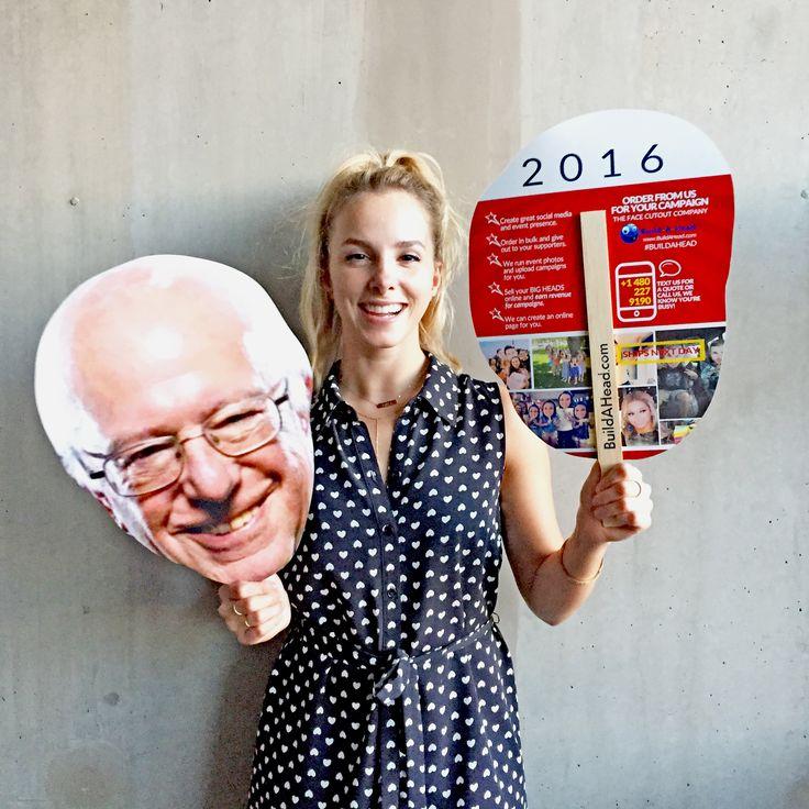 Feelin' the Bern? #Bernie2016 BIG head cutouts. Ships next day: https://buildahead.com/prod…/bernie-sanders-big-head-cutout/