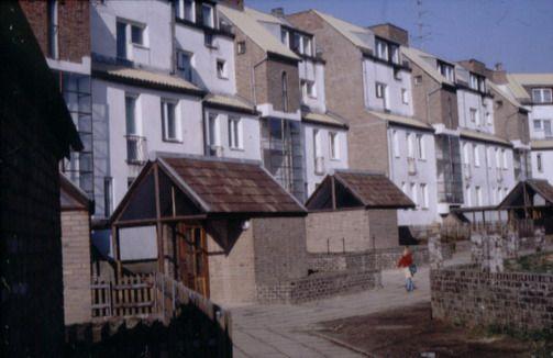 Tychy | Osiedle H 7, budynki mieszkalne arch. Stanisław Niemczyk, II poł. lat. 70. | Foto. Janusz A. Włodarczyk ©