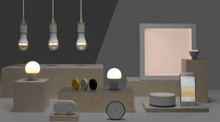 Ikea Launch A Line Of Smart Bulbs Named Trådfri