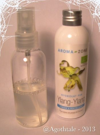 spray hydratant cheveux