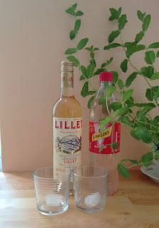 """Sometime ago a friend of mine introduced me to the drink """"Lillet Berry"""" and I just loved it immediately! So besidesMoscow Mule this is one of my favorite drinks and it is so easy to make – always a b"""