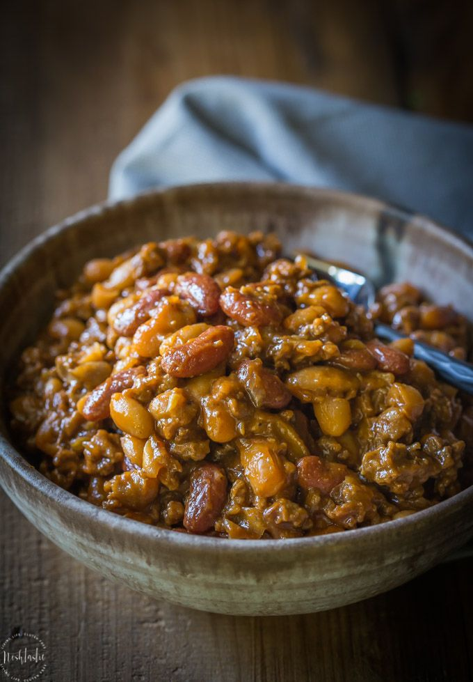 Best BBQ Baked Beans with Beef, Best BBQ Baked Beans with Beef, this was the most popular recipe I made all year! it's a great way to use up hamburger meat.