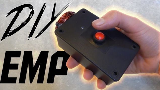 This DIY Electromagnetic Pulse (EMP) Generator Is Simple to Build, Fries Small Electronics