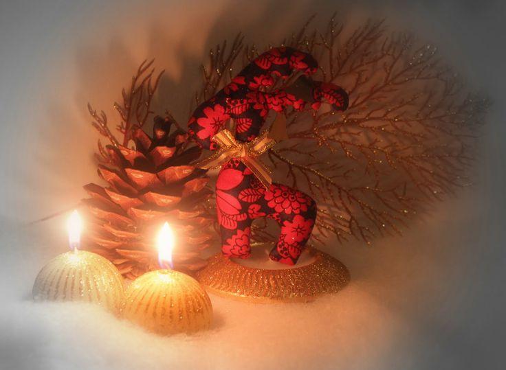 Полинкины рукоделки: Олени Санта-Клауса.