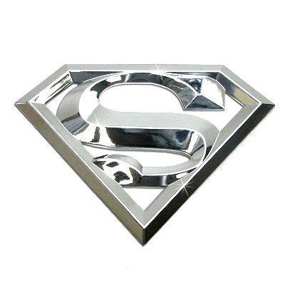 Superman 3D Chrome ABS Car Emblem - http://coolgadgetsmarket.com/superman-3d-chrome-abs-car-emblem/