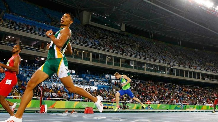 South Africa's Wayde van Niekerk not only won the Olympic gold medal in the…