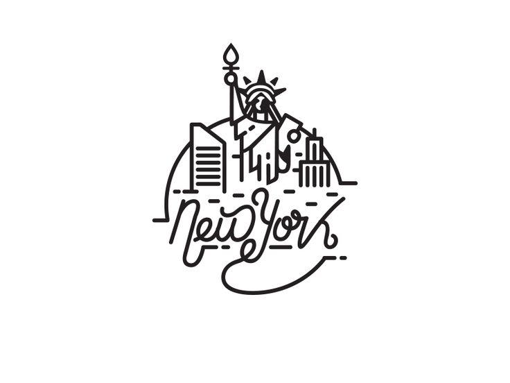 New York / statue of liberty