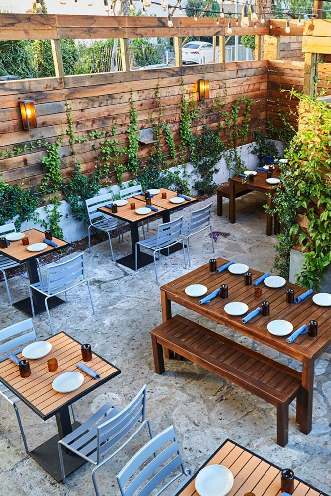 The Guide To La Rooftops Bucket Listers Outdoor Restaurant Design Outdoor Restaurant Patio Rooftop Restaurant Design