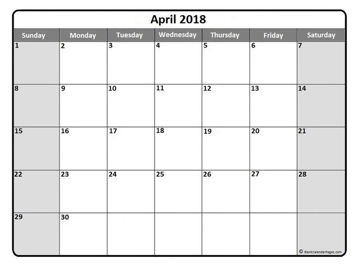 blank calendar november 2018 printable