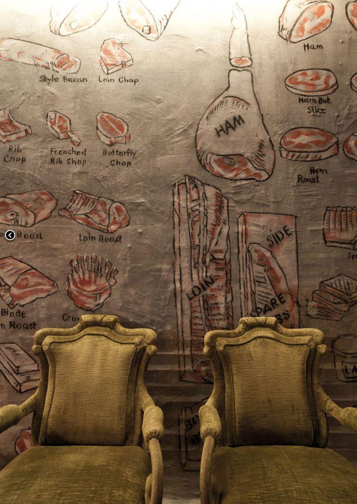 Zum Goldenen Kalb | Steak restaurant |  Utzschneiderstrasse 1, Munich