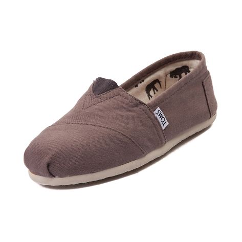 Womens TOMS Classic Slip-on Casual Shoe, Grey | Journeys Shoes