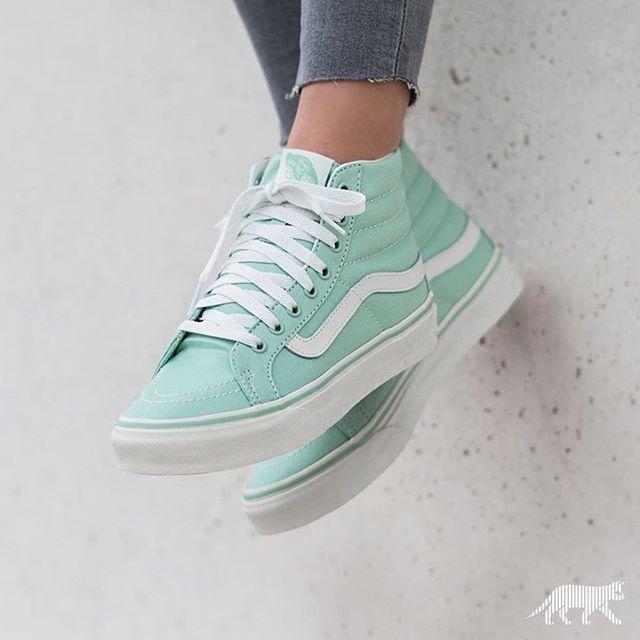 Sneakers femme - Vans Sk8-Hi Slim
