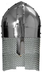 CASQUE VIKING SPANGENHELM - MOYEN SPANGENHELM VIKING HELMET - MEDIUM GRANDEUR NATURE
