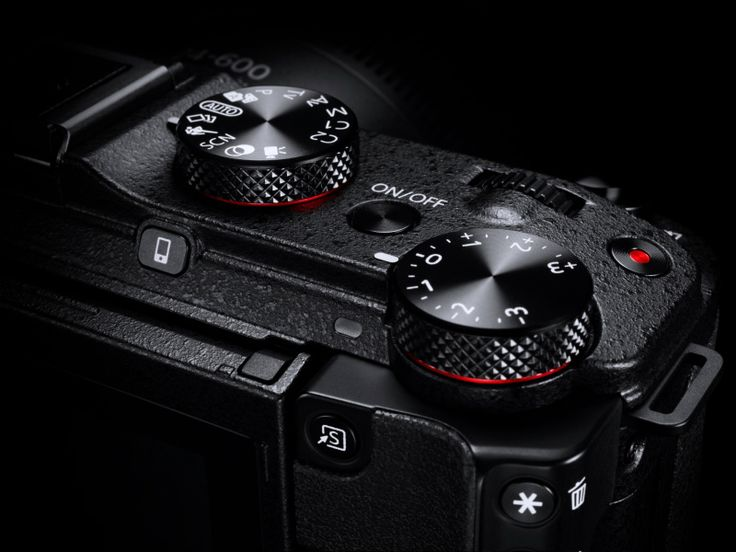 PowerShot G3 X Mode Dial