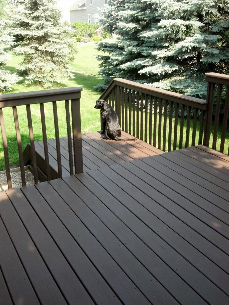 Behr Deck Over Color   Coffee Part 9