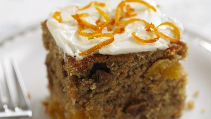 Ingrédients du Gâteau à la Carotte