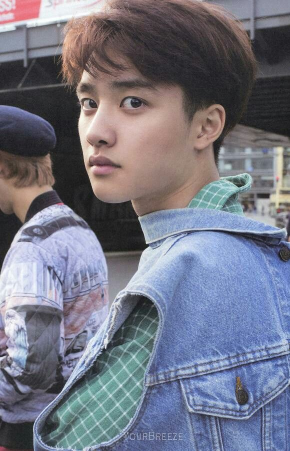 "EXO-K 1st photobook in 2014 ""DIE JUNGS"" EXO D.O. and his innocent stare. so in love with him #kyungsoo"