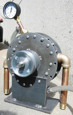 Quasiturbine Pneumatic Engine - Air Motor - Air Engine