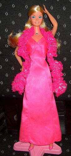 Superstar Barbie - she was my favorite Barbie as a kid!! she even had a huge diamond ring!